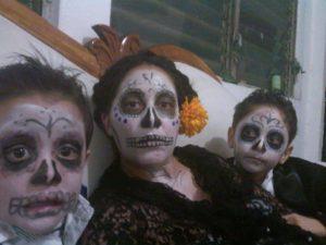 Disfraz de Día de Muertos