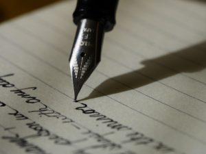 Escribir calaveras